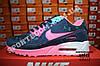 Кроссовки Nike Air Max 90 Blue Pink Розовые женские, фото 5