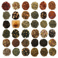 Комплект з 19 видів чаю по 10 г