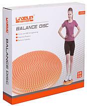 Массажная балансировочная подушка «LiveUp» LS3226 MASSAGE CUSHION, фото 3