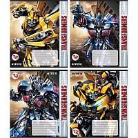 TF18-235 Тетрадь школьная (12 л. косая линия) (20 шт) KITE 2018 Transformers 235