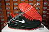Кроссовки Nike Air Max 90 Black Red Черные мужские, фото 4