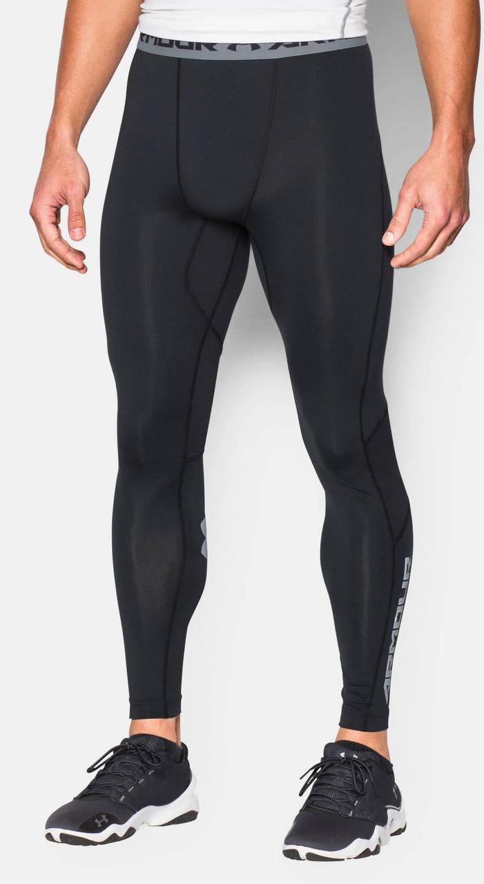 Леггинсы Under Armour Heatgear Compression Legging (CoolSwitch) 1271331-100 Черные XXL (1271331-100)