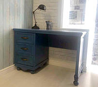Письменный стол из массива дерева Прованс цвет на выбор  РКБ-Мебель