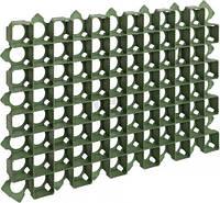 Решетка газонная РГ-70.40.3,2 пластиковая зеленая
