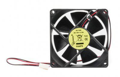 Вентилятор для корпуса Gembird (FanPS) 80 mm 2pin