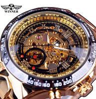 Часы наручные мужские WINNER Gold TinYat M139