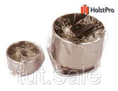 Маслёнка одинарная, металлическая (d:6,1х3,9см), D.K.ART § CRAFT
