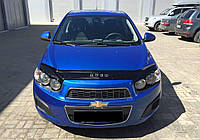 Дефлектор капота VIP TUNING Chevrolet AVEO Т300 2012-2015 г.в.