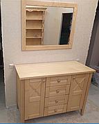 Комод из массива дерева  Кантри  РКБ-Мебель, цвет на выбор