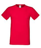 Мужская футболка супер мягкая - 61-412-0 Красный, С