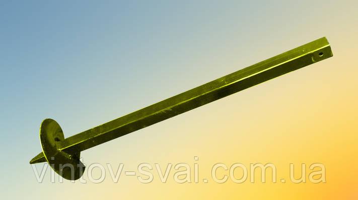 Винтовой столб 30 х 30 мм. 1000 мм.