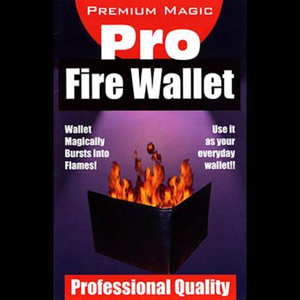 Реквізит для фокусів | Pro Fire Wallet by Magic Premium, фото 2