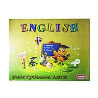 Настольная игра для детей Лото ENGLISH Artos