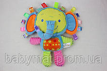 Слоник развивающая игрушка - подушка