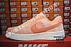 Кроссовки Nike Air Force One Low Orange Оранжевые женские, фото 5