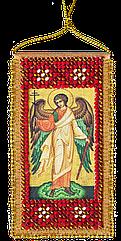Набор-оберег для вышивки бисером Молитва Янголу-охоронцю -  укр. вариант (5 х 10 см) Абрис Арт ABO-001-01