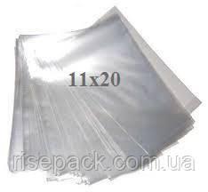 Пакеты полипропиленовые 11х20 прозрачные для упаковки и фасовки