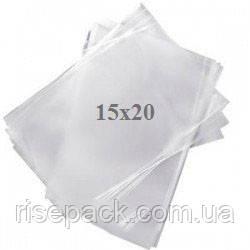 Пакеты полипропиленовые 15х20 прозрачные для упаковки и фасовки