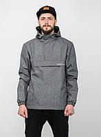 Мужской серый анорак Urban Planet RS1 MEL