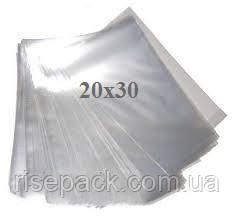 Пакеты полипропиленовые 20х30 прозрачные для упаковки и фасовки