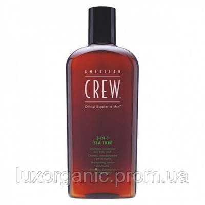 AMERICAN CREW Средство по уходу за волосами и телом Tea tree / 450 мл