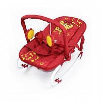 Детский шезлонг-качалка BT-BB-0001 красная