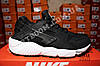 Кроссовки Nike Air Huarache Black White Черные женские, фото 4