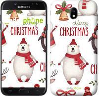 "Чехол на Samsung Galaxy J7 J730 (2017) Merry Christmas ""4106c-786-571"""