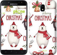 "Чехол на Samsung Galaxy J5 J530 (2017) Merry Christmas ""4106c-795-571"""