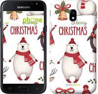 "Чехол на Samsung Galaxy J2 2018 Merry Christmas ""4106u-1351-571"""