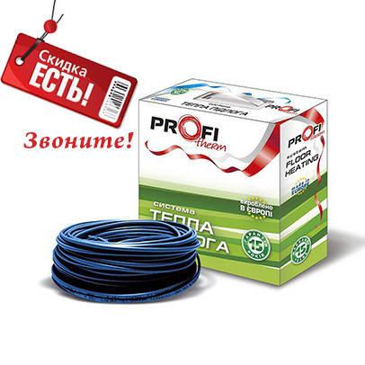 Греющий кабель для теплого пола в стяжку ProfiTherm 210 Вт (1,4-1,7 м2), фото 2