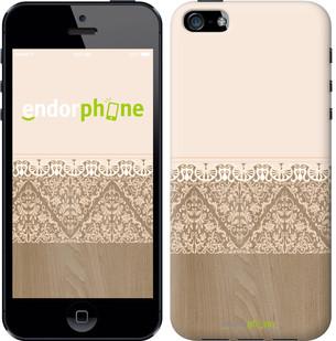 "Чехол на iPhone 5 Нежный узор ""3360c-18-571"""