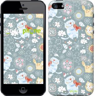 """Чехол на iPhone 5s Котята v3 """"1223c-21-571"""""""