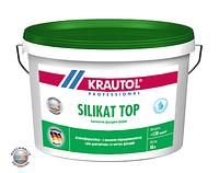 Силикатная краска для фасадов Krautol Silikat Top В1 (10 л)