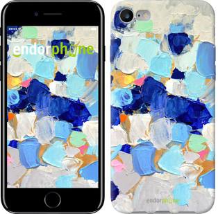 """Чехол на iPhone 7 Холст с красками """"2746c-336-571"""""""
