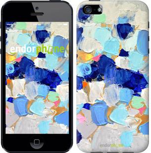 """Чехол на iPhone 5s Холст с красками """"2746c-21-571"""""""