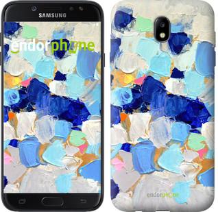 """Чехол на Samsung Galaxy J7 J730 (2017) Холст с красками """"2746c-786-571"""""""