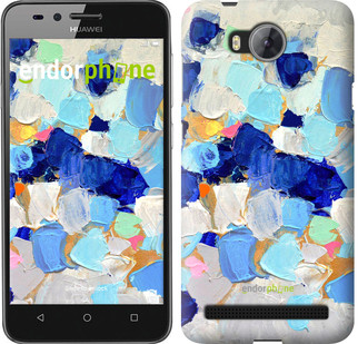 "Чехол на Huawei Y3II / Y3 2 Холст с красками ""2746c-495-571"""