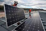 Как установить солнечные панели на крыше многоэтажного дома