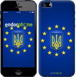 """Чехол на iPhone 5s Евросоюз 6 """"781c-21-571"""""""