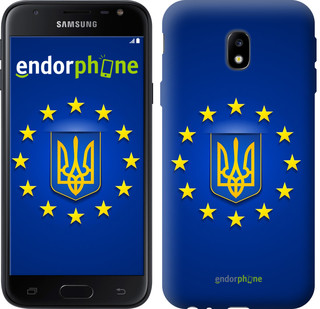 "Чехол на Samsung Galaxy J2 2018 Евросоюз 6 ""781u-1351-571"""