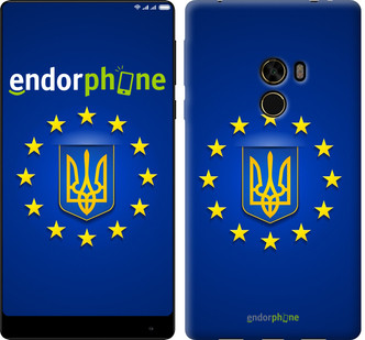 "Чехол на Xiaomi Mi MiX Евросоюз 6 ""781u-426-571"""