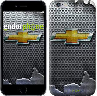 """Чехол на iPhone 6s Plus Chevrolet. Logo v3 """"3155c-91-571"""""""