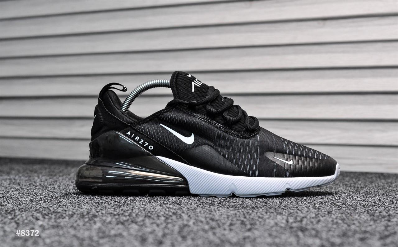 Мужские Кроссовки Nike Air Max 270 Triple Black Реплика — в Категории