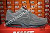 Кроссовки Nike Air Max 90 VT Gray Серые Замш, фото 7