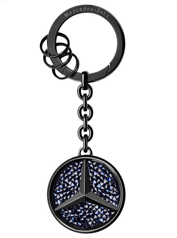 Брелок для ключей Mercedes-Benz Key Ring Saint-Tropez Black Edition 2017 (B66953288)