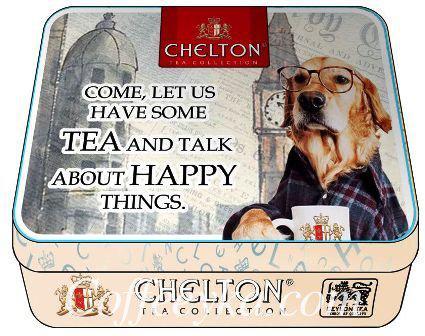 "Чай черный Chelton "" Чай и разговоры""  60 г ж/б"