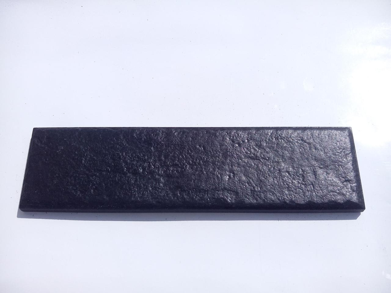 Клинкерная фасадная плитка Paradyz Scandiano Nero 245х66х7,4