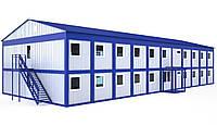 Быстромонтируемые блочные металлические здания | Цена изготовления легковозводимых домов от производителя, фото 1