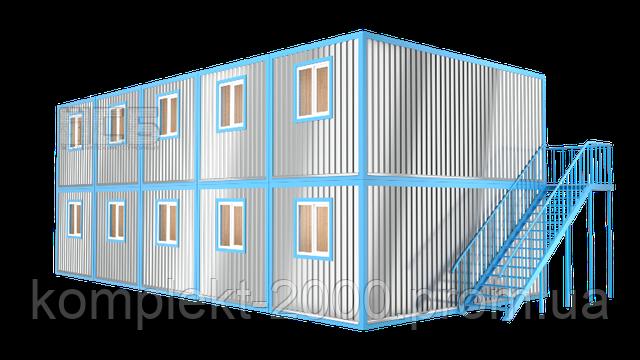 строительство легковозводимых модульных зданий в Киеве